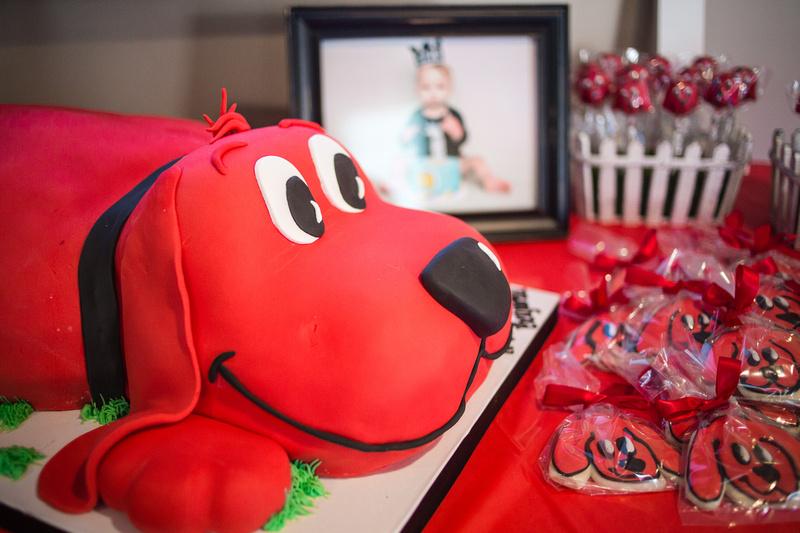 Zenfolio Rosy Lens Portrait Clifford The Dog First Birthday